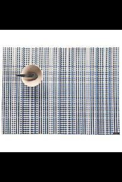 CHILEWICH - Set de Table Wave Bleu 36x48cm
