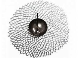 CHILEWICH - Dahlia Silver Placemat 36x39cm-1