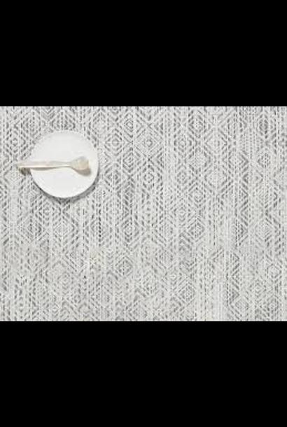 CHILEWICH - Set de Table Mosaic Blanc/Noir 36x48cm