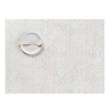 CHILEWICH - Mosaic Gray Placemat 36x48cm-1