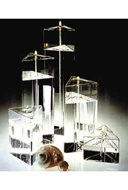 FIRELIGHT - Lampe Mega Prism 7,5cm