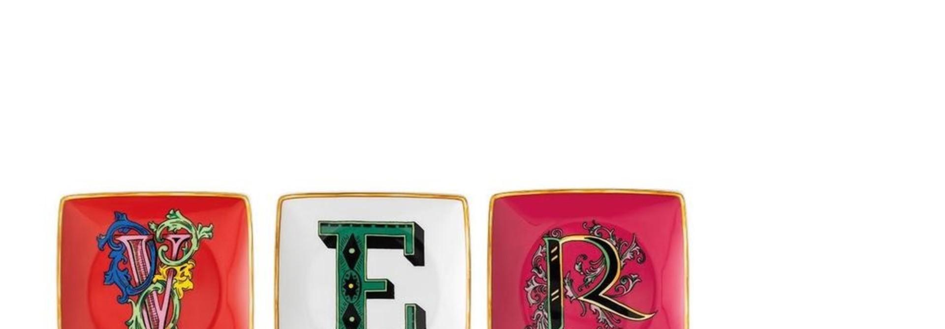 ROSENTHAL - Versace Holiday Alphabet Set