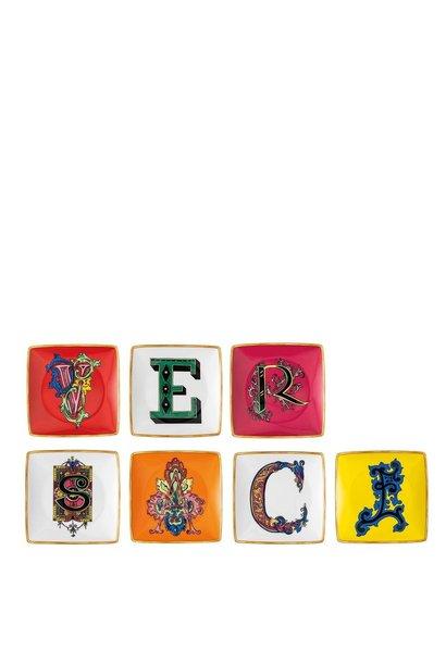 ROSENTHAL - Versace Holiday Alphabet Coupelles Set