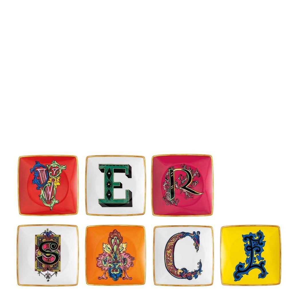 ROSENTHAL - Versace Holiday Alphabet Set-1