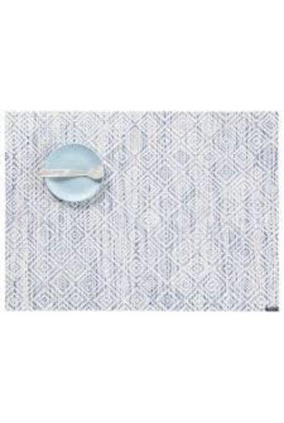 CHILEWICH - Set de Table Mosaic Bleu 36x48cm