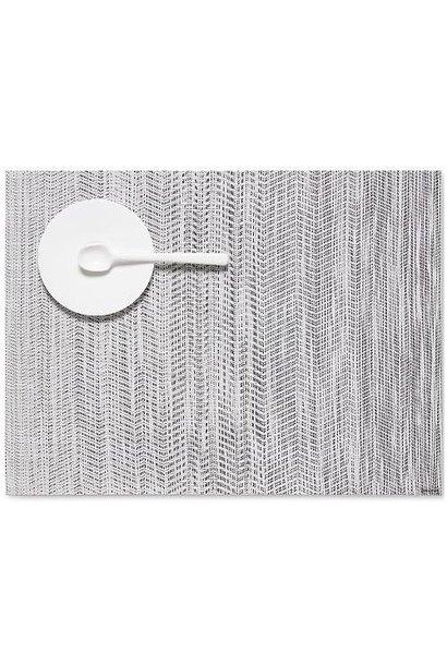 CHILEWICH - Set de Table Wave Gris 36x48cm