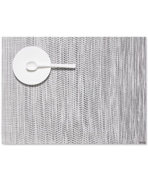 CHILEWICH - Wave Gray Placemat 36x48cm-1