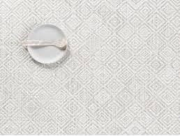 CHILEWICH - Mosaic Gray Placemat 36x48cm-2