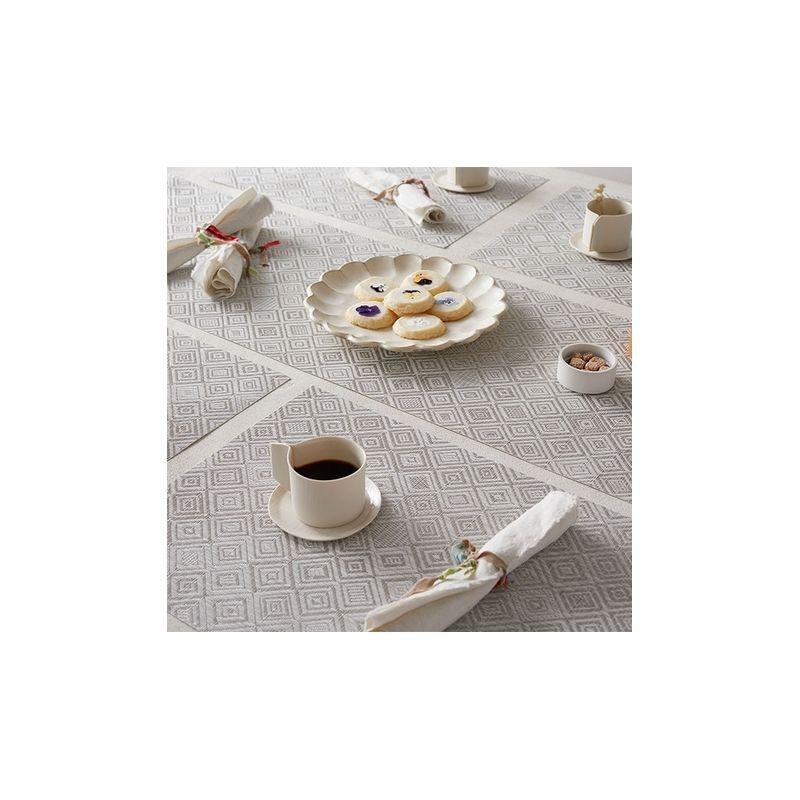 CHILEWICH - Mosaic Gray Placemat 36x48cm-3