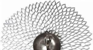 CHILEWICH - Dahlia Silver Placemat 36x39cm-2