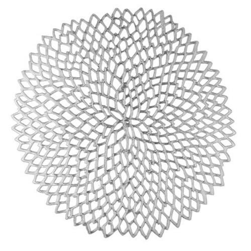 CHILEWICH - Dahlia Silver Placemat 36x39cm-3