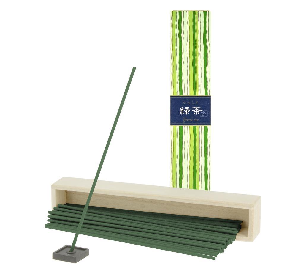 TIERRA ZEN - Kayuragi Green Tea Incense-2