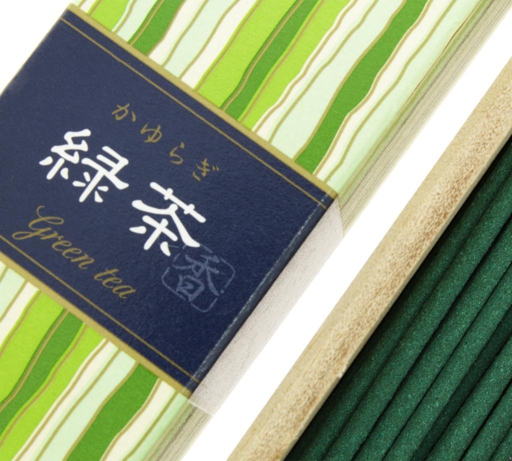 TIERRA ZEN - Kayuragi Green Tea Incense-3