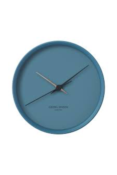 JENSEN - Blue Clock 22cm