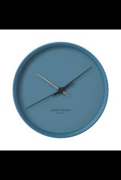 JENSEN - Horloge Bleu 22cm