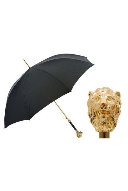 PASOTTI - Parapluie Tête de Lion Or