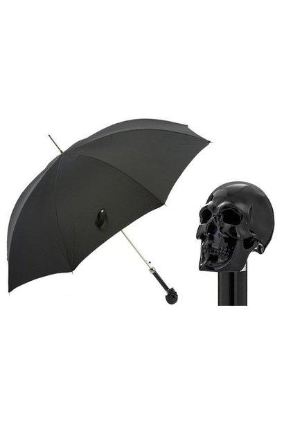 PASOTTI - Parapluie Oxford Crâne Noir