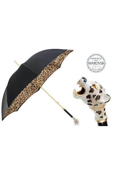 PASOTTI - Parapluie Satin Manche Jaguar
