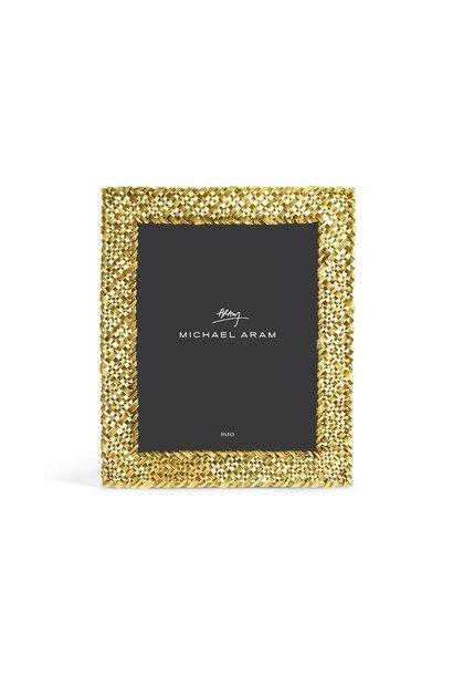 MICHAEL ARAM - Photo Frame Golden Palm 21x25cm