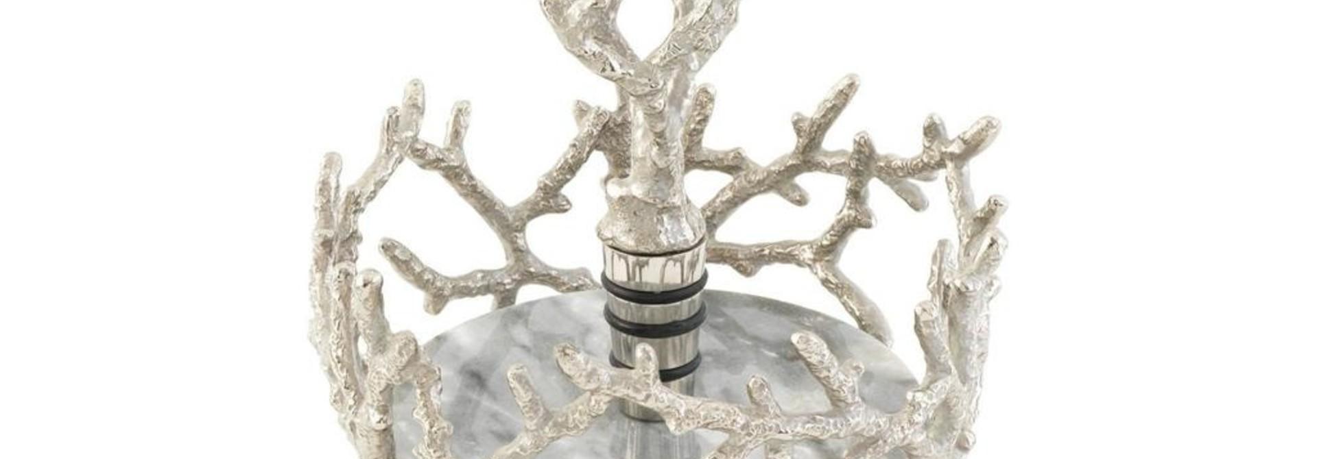 MICHAEL ARAM - Bottle Coaster + Stopper Set
