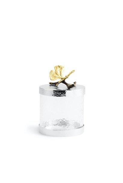 MICHAEL ARAM - Glass Butterfly Gingko Jar