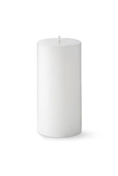 PERNICI - Bougie Pillier Blanc D.7 x H.7cm