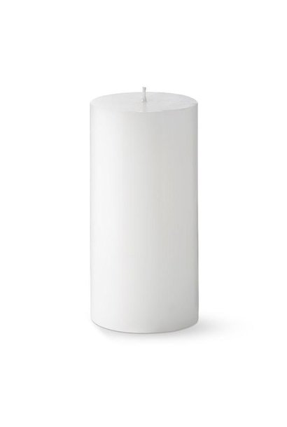 PERNICI - White Pillow Candle D.7 x H.7cm