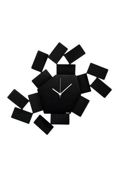 ALESSI - Stanza Black Wall Clock