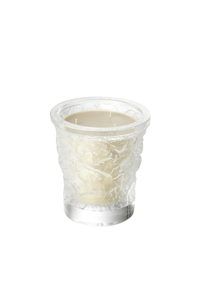 LALIQUE - Vase Bougie Cristal Forêt
