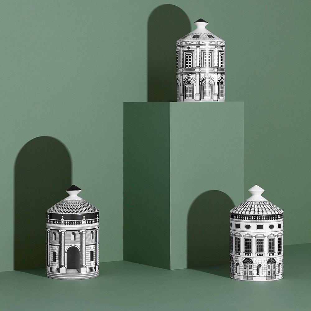 FORNASETTI - Architettura Candle 300gr-6