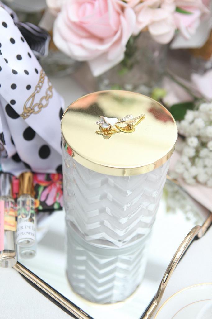 COTE NOIRE - Candle Herringbone White Scarf-4