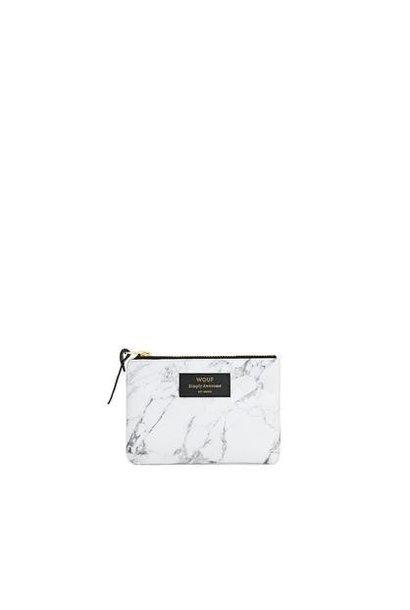 WOUF - Mini Pochette White Marble