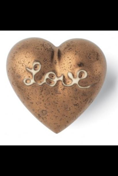 DENZ HERZ - Coeur Heart Of Gold Bronze