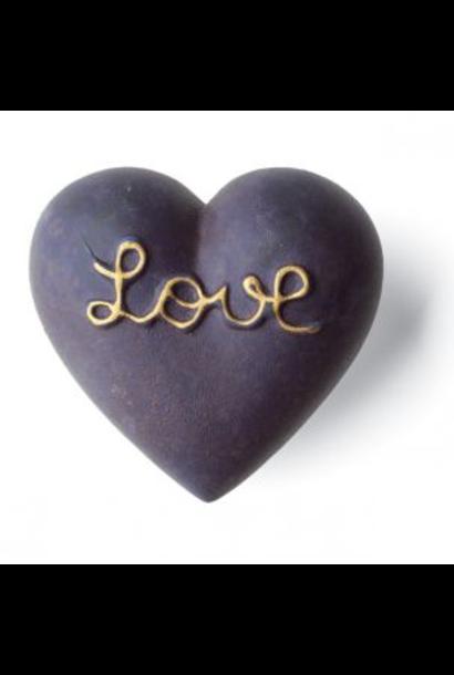 DENZ HERZ - Coeur Amoro Bleu Mat