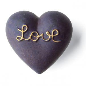 DENZ HERZ - Heart Amoro Bleu Mat-1