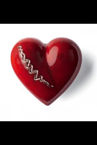 DENZ HERZ - Coeur Cardiac Rouge