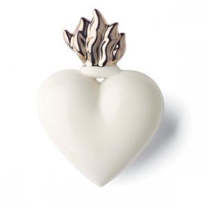 DENZ HERZ - Heart Flamme Silver-1