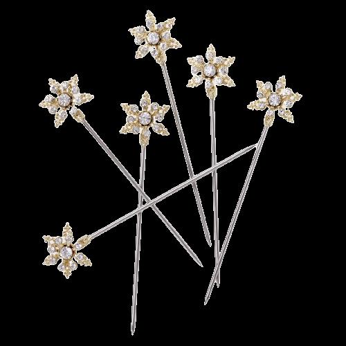 JOANNA BUCHANAN - Snowflake Cocktail Picks-1