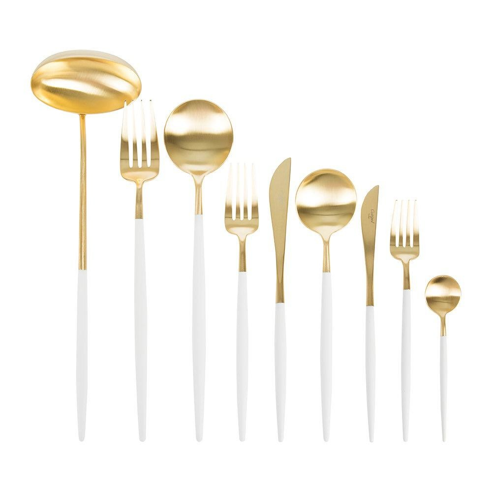 CUTIPOL - Goa Cutlery 75 pcs White / Gold-1