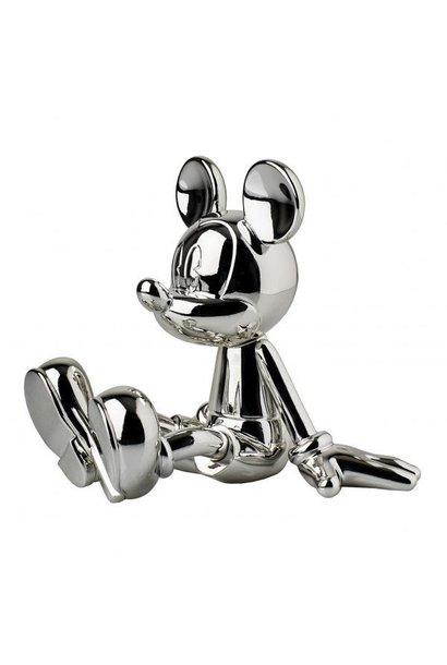 LEBLON DELIENNE - Mickey Sitting Chrome Silver 12cm