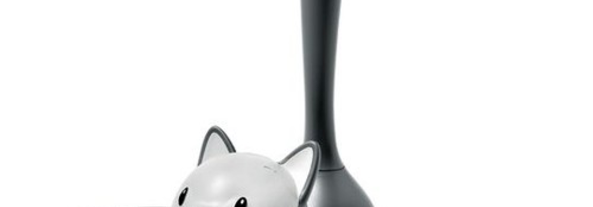 ALESSI - Gray Cat Bowl