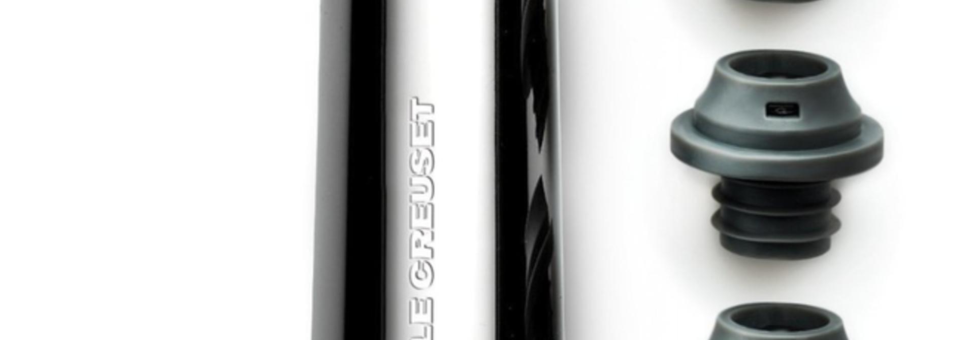 LECREUSET - Black Nickel Wine Pump