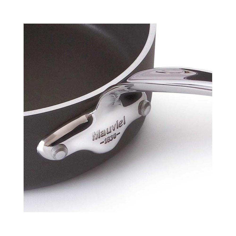 MAUVIEL - M'Stone Black Ceramic Saute Pan 24cm-2