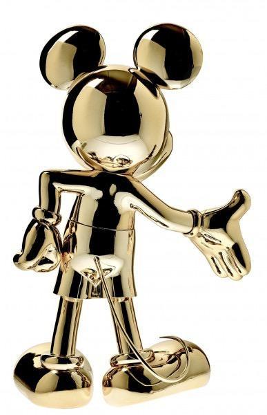 LEBLON DELIENNE - Mickey Welcome Chrome 30cm-2