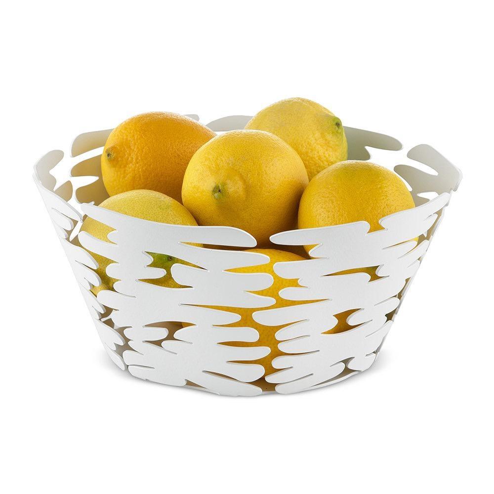 ALESSI - Large White Barket Basket-3