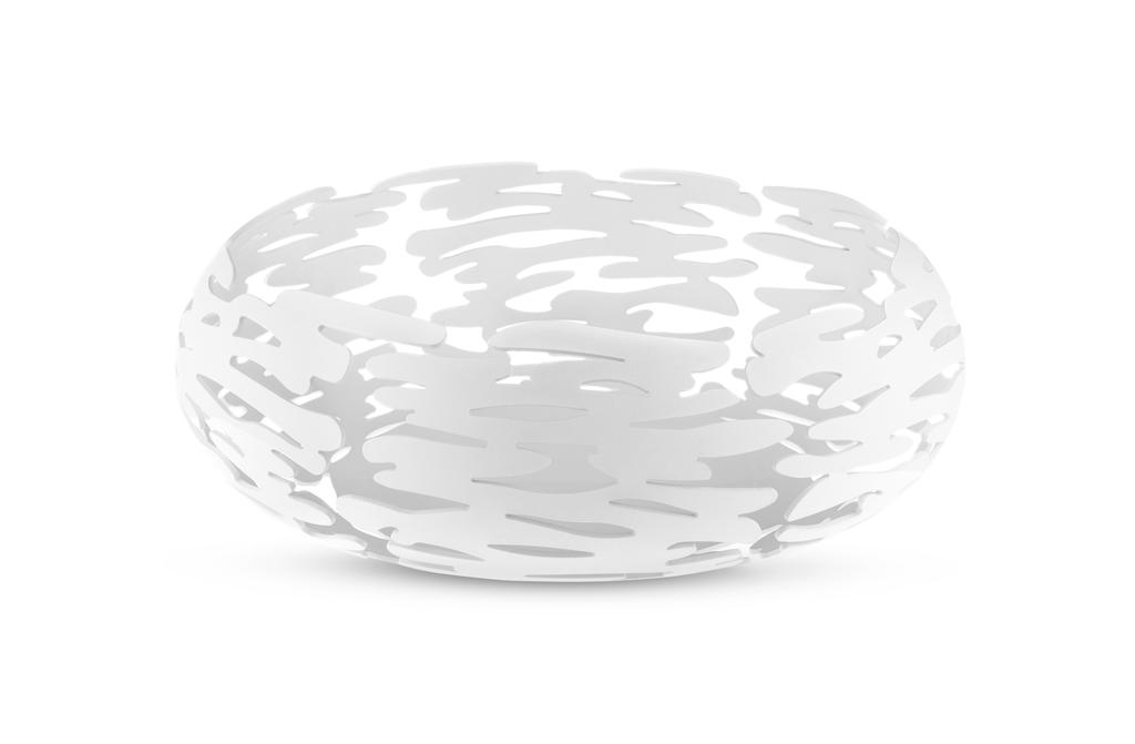 ALESSI - White Round Barknest Basket-1