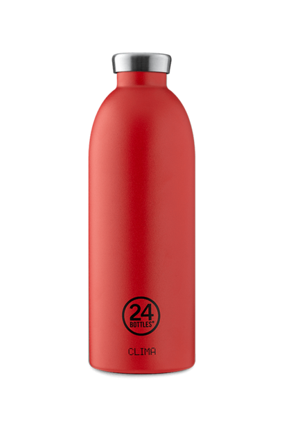 24 BOTTLES - Bottle Thermos Clima Rouge Intense 85cl