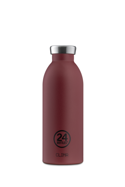 24 BOTTLES - Bottle Thermos Clima Stone Country Red 50cl