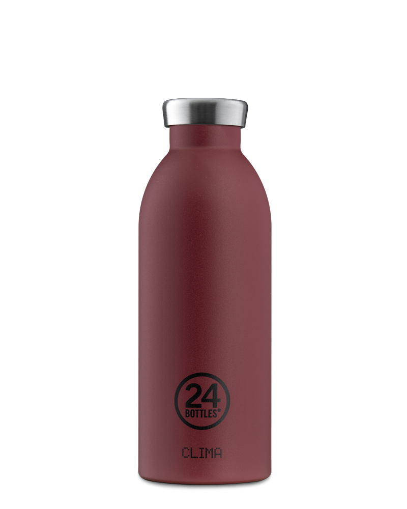 24 BOTTLES - Bottle Thermos Clima Stone Country Red 50cl-1