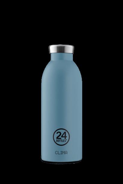 24 BOTTLES - Bottle Thermos Clima Bleu Poudre 50cl